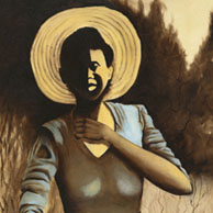 African American woman art
